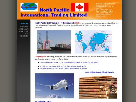 North Pacific International Trading Limited www